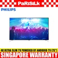Philips 75PUT7101/98 4K Ultra Slim LED TV powered by Android TV (75-inch)