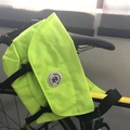 Original Crumpler Miner Upset Sling Messenger bag high vis