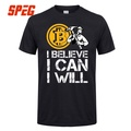 Bitcoin In Cryptography We Trust Men Funny Tees Cotton