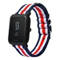 20mm Canvas Wristband for Xiaomi Huami AMAZFIT
