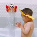 【現貨 下單即出貨】可愛螃蟹泡泡機洗澡沐浴音樂泡泡製造機抖音同款兒童洗澡戲水玩具洗澡必備玩具泡泡浴必備寶寶必備