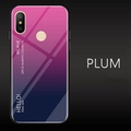 UPaitou Tempered Glass Case for Xiaomi Redmi Note 5 Pro (AI) Case TPU Bumper with Gradient Glass Back Phone Cover Case for Redmi Note 5 Pro