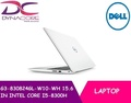 BRAND NEW [DELL] LAPTOP G3-830824GL-W10-WH 15.6 IN INTEL CORE I5-8300H 8GB 256GB SSD WIN 10