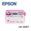 EPSON 愛普生 LW-200KT Hello Kitty 輕巧可攜標籤機