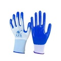 勞保手套 手套勞保浸膠耐磨 工作防水防滑 塑膠橡膠工業帶膠膠皮手套【快速出貨八五折】
