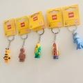 「現貨」正版限量LEGO -可愛人物造型鑰匙圈-套組