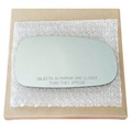 Mirror Glass and ADHESIVE 2003-2011 Saab 9-3 or 2003-2009 Saab 9-5 Passenger Right Side Replacement Glass - intl