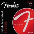 【全館折300】 Fender 250L 09-42 吉他弦 電吉他弦 琴弦 09 42 美國製造 鍍鎳 250