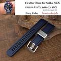 สายนาฬิกา Crafter Blue Navy Color for Seiko SKX 007,009,011,A65k