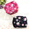 HELLO KITTY 化妝包 零錢包 收納包 萬用包 方形 日式和風 配件 正版日本進口 JustGirl
