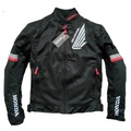 免運 新款 本田 HONDA 夏季 黑色款  騎士 防摔外套 附雨衣夾層 附送雨衣