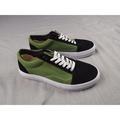 和葉代購❥AteIierAceHotI X Vans VauIt 最新聯名 材料 黑色反毛皮+帆布綠色 ;尺