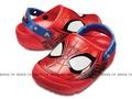 Shoestw【205018-8C1】CROCS 卡駱馳 鱷魚 輕便鞋 拖鞋 涼鞋 LED發光 大眼睛 蜘蛛人 紅藍 童鞋款