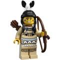 Lego 8683 1代 印地安人 印地安 獵人