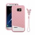 三星S7 Edge 保護套 Fabitoo法比兔冰淇淋矽膠套 Sumsung S7 Edge_G9350 手機保護殼