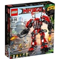 LEGO 樂高 Ninjago Movie Fire Mech Building Kit 70615