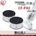 CF-FH2 排氣濾網.IRIS OHYAMA IC-FAC2 除塵蟎吸塵器 專用 / 2入裝 耗材 數位達人
