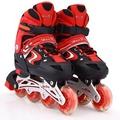溜冰鞋兒童全套裝 成人男女直排輪輪滑鞋旱冰鞋滑冰鞋可調閃光輪N17 型男原創館