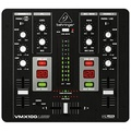 Behringer Pro Mixer VMX100USB Professional 2-Channel DJ Mixer with USB/Audio Interface