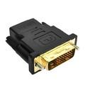 DVI(24+1)公轉HDMI母接頭 DVI-D公-HDMI母 DVI-D轉HDMI M/F轉接頭 公對母
