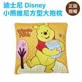 小熊維尼方型大抱枕 維尼熊 靠枕 沙發枕 Disney 迪士尼[蕾寶]