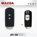 【2M2】馬自達2 MAZDA3 MAZDA6 CX-3 CX-5 智能 晶片 鑰匙矽膠套 果凍包