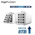 伽利略 USB3.0 + eSATA 4層抽取式鋁合金硬碟外接盒