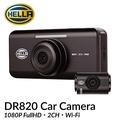 HELLA DR820 Car Camera 2CH 1080P FullHD FREE 16GB SD CARD