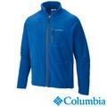【Columbia哥倫比亞】男款刷毛外套-藍色 UAE30390BL