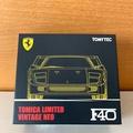 TOMICA TOMYTEC TLV Ferrari F40 TOMICA SHOP 限定 黃色