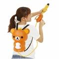 X射線【C9224】懶熊背包水槍玩具景品,高壓水槍/水槍背包/夏季戲水/水槍/泳圈/浮板