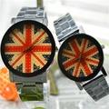 KEVIN K-2068英倫風情 英國國旗 個性造型腕錶(大型)