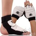 跆拳道手套成人兒童護手套散打訓練比賽護腳跆拳道護手套