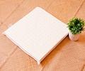 【Jenny Silk】純天然乳膠坐墊單人座墊.40公分方形.加贈隨機布套