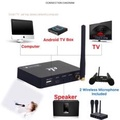 Wireless Mini Family Home Karaoke Echo System Singing Machine Box Karaoke Players USB Audio for Android TV Box PC Phones Wireless Mini Family Home Karaoke Echo System Singing Machine Box Karaoke Players USB Audio for Android TV Box PC Phones