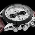 100% Original MEGIR 2020 Stainless Steel Case Leather Strap MenMale Fashion Business Sport Casual Army Military Wrist Quartz Wat - intl