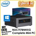 (Intel® Technology Provider) Intel NUC7i7BNHXG Complete Mini PC with Windows 10 & Intel Octane memory (NUC / Small Form Factor) (Local Singapore Distributor Stocks)