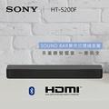 ★ 達人推薦 ★ 【免運】SONY 索尼 SOUND BAR 2.1聲道單件式環繞音響 HT-S200F