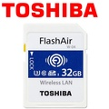 TOSHIBA 東芝 32GB 32G FlashAir WIFI SDHC SD W-04 Eyefi 記憶卡