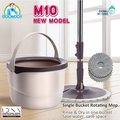 [Boomjoy] M10 /no basket single bucket spin mop /2018 trendy product /improved versions of M8 and M9