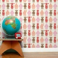 Aimee Wilder / ANALOG Collection Robots red 壁紙 (訂貨單位68.8cm×9m/卷)
