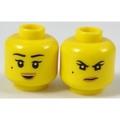 【LEGO 大補帖】黃色 赤蘭臉【6194788/34322/3626cpb1905/70607】(MD-25)