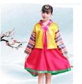 เด็กชุดฮันบกชุดเจ้าหญิงอนุบาลแห่งชาติเกาหลี STAGE Dance COSPLAY แพลตฟอร์มเครื่องแต่งกาย