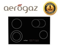 Aerogaz 80cm 4 burner built-in Vitroceramic Hob AZ7528VC