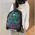 Adidas愛迪達後背包 3D 菱形男女筆電包 三葉草學校書包 旅行包情侶包 最佳禮物、贈品