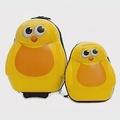 【英國Cuties and Pals】蛋型輕硬殼兒童專屬旅行箱+背包 2件組小雞