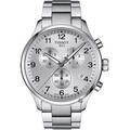 TISSOT天梭 韻馳系列 Chrono XL計時手錶-銀/45mm T1166171103700