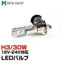 LED閥門H3 30W 12V/24V對應(LED-30W-H3)CREE製造鋁散熱錄用霧燈 MTKSHOP