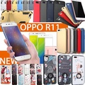 OPPO Latest Model OPPO R11s R11 Plus case cover tempered glass PU leather case for OPPO R11 R11 Plus