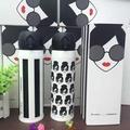 *vivi shop* 特惠出清星巴克(韓國定制創意logo)愛麗絲頭像款 & 愛麗絲條款420ML 彈跳蓋式 外貿單  採安全不鏽鋼304 保溫杯  隨行杯 咖啡杯 保溫瓶+贈杯套 -(-附禮盒裝)